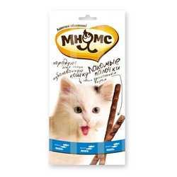 Мнямс лакомство для кошек лосось с форелью 5 гр х 3 шт