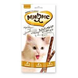 Мнямс лакомство для кошек курица с уткой 5 гр х 3 шт
