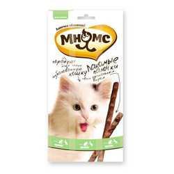 Мнямс лакомство для кошек утка с кроликом 5 гр х 3 шт