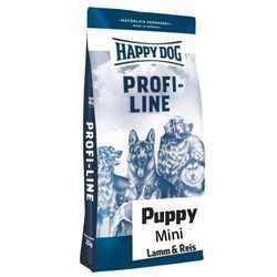 Хэппи Дог Профи для щенков мелких пород с ягненком 20 кг
