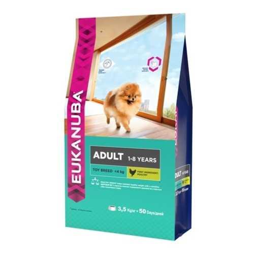 Eukanuba корм для взрослых собак миниатюрных пород 3,5 кг