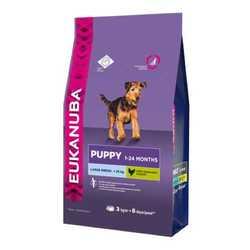 Eukanuba Puppy Large корм для щенков крупных пород 3 кг