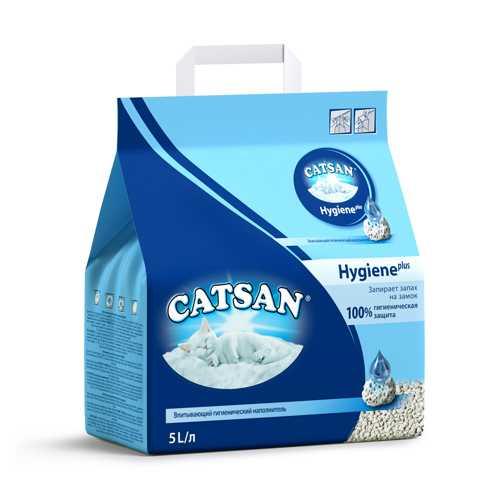 Катсан впитывающий наполнитель для кошек 10 л
