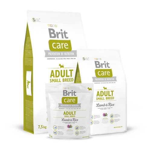Brit Care Small Breed сухой корм для собак мелких пород 3 кг