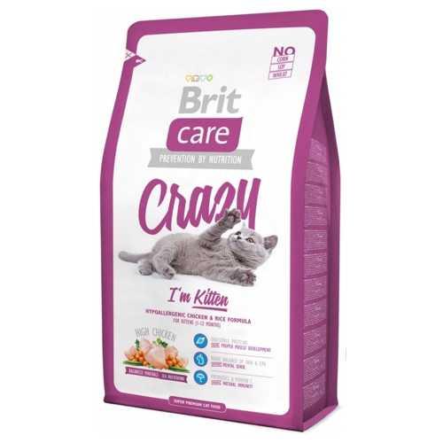 Брит Кеа сухой корм для котят 2 кг