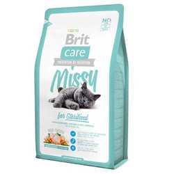 Brit Care Sterilised корм для стерилизованных кошек 7 кг