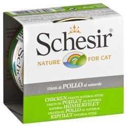 Schesir консервы для кошек курица в собственном соку (0,085 кг) 14 шт