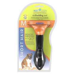 FURminator для короткошерстных средних пород собак 7 см