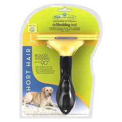 FURminator для крупных короткошерстных пород собак 10 см
