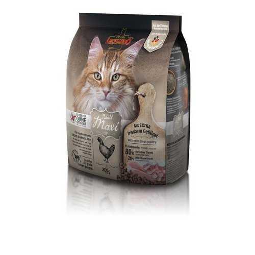 Леонардо сухой корм для кошек крупных пород 400 гр