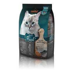 Леонардо сухой корм для кошек с рыбой 15 кг