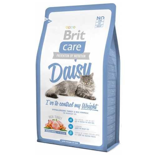 Brit Care Weight Control сухой корм для кошек с лишним весом 7 кг