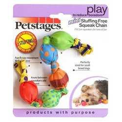 """Petstages """"Жевательная цепь"""" игрушка для собак с пищалкой 18 см"""