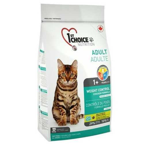 1st Choice сухой корм для кошек облегченный 2,72 кг