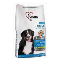 1st Choice сухой корм для взрослых собак средних и крупных пород 15 кг