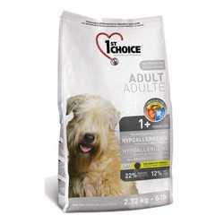 1st Choice сухой корм гипоаллергенный для взрослых собак всех пород 12 кг