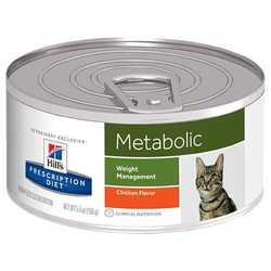 Hills Prescription Diet Feline Metabolic консервы для кошек коррекция веса (0,156 кг) 1 шт
