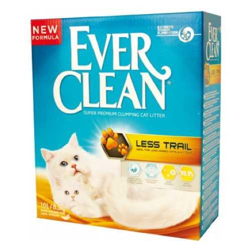 Эвер Клин наполнитель для длинношерстных кошек (оранжевая полоса) 10 кг