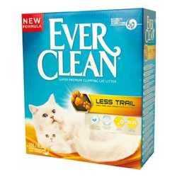 Ever Clean Fresh Low Track наполнитель комкующий для длинношерстных кошек (оранжевая полоса) 6 кг
