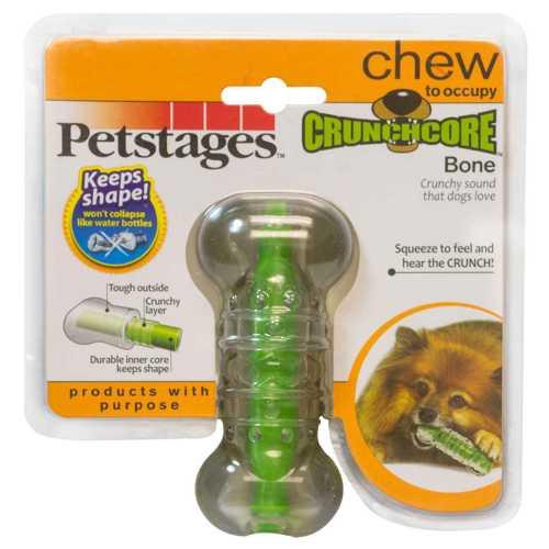 """Petstages игрушка для собак """"Хрустящая косточка"""" резиновая малая"""