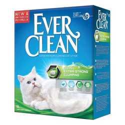 Ever Clean Fresh Guard наполнитель комкующий с ароматизатором (зеленая полоса) 10 кг