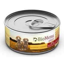 Biomenu консервы для собак с цыпленком и ананасами (0,1 кг) 1 шт