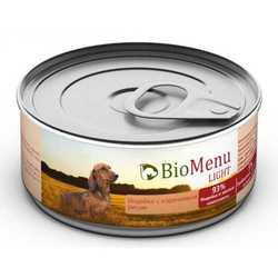 Biomenu консервы для собак низкокалорийные (0,1 кг) 1 шт