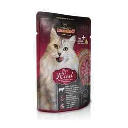 Леонардо паучи для кошек с говядиной (0,085 кг) 16 шт