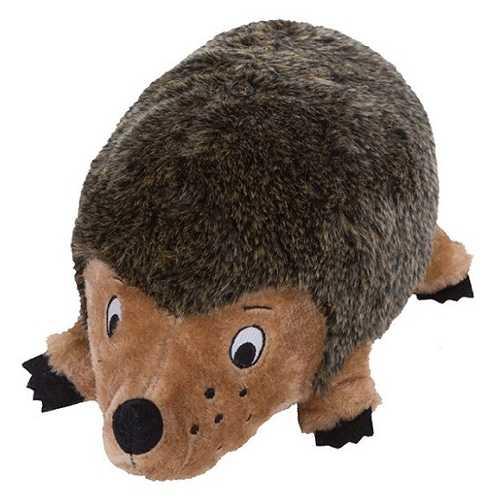 Petstages OH игрушка для собак Ежик текстильный с пищалками 18 см