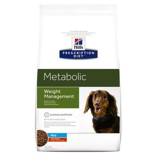 Хиллc Метаболик Мини сухой диетический корм для коррекции веса у мелких собак 1,5 кг