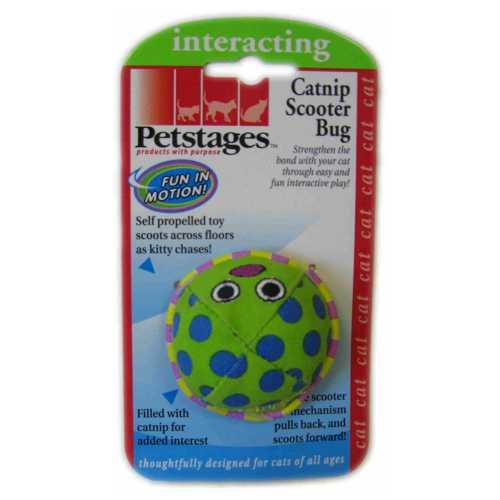 """Petstages » Petstages игрушка для кошек """"Жук заводной"""" с кошачьей мятой"""