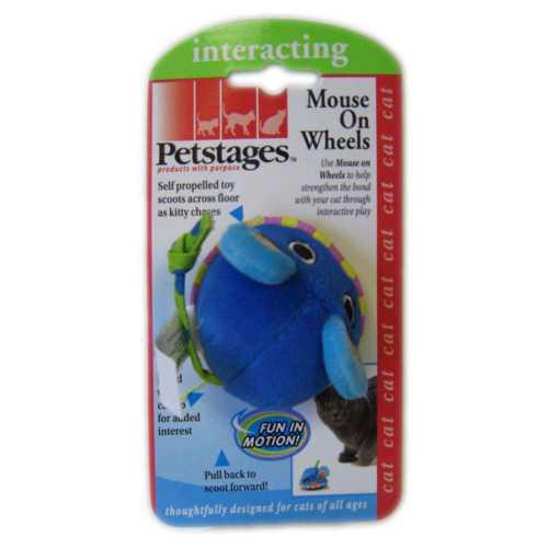 """Petstages » Petstages игрушка для кошек """"Мышка заводная с кошачьей мятой"""""""