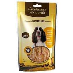 Деревенские лакомства для собак куриные ломтики 90 гр