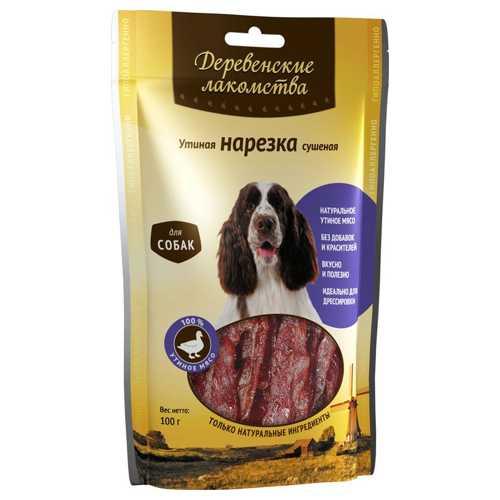 Деревенские лакомства для собак утиная нарезка 100 гр