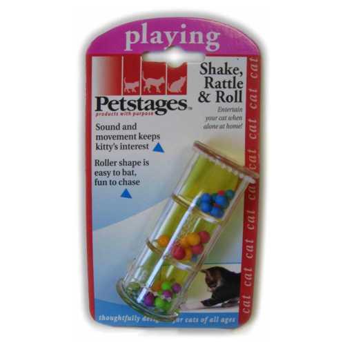 "Petstages игрушка для кошек ""Погремушка"" пластик"