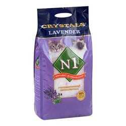 Crystals N 1 Lavander силикагелевый наполнитель 5 л