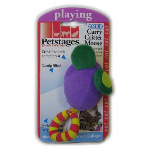 """Petstages игрушка для кошек """"Мышка с кошачье мятой"""""""