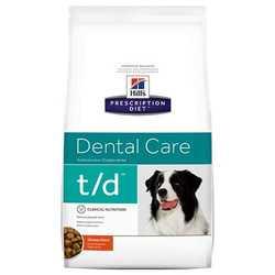 Hills T/D сухой диетический корм для собак при заболевании полости рта 3 кг