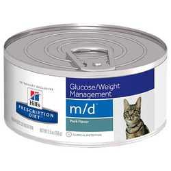Hills Prescription Diet m/d консервы для кошек при лечении диабета (0,156 кг) 1 шт