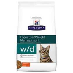 Hills Prescription Diet Feline w/d корм при лечении диабета 5 кг