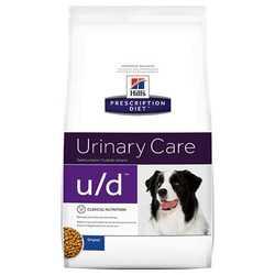 Hills U/D сухой диетический корм для собак при лечение МКБ и почек 5 кг