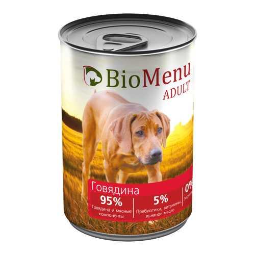 Biomenu консервы для собак с говядиной (0,41 кг) 1 шт