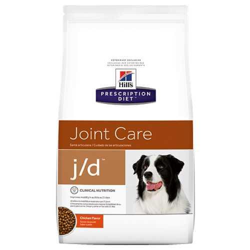 Hills J/D сухой диетический корм для собак при лечение суставов 2 кг