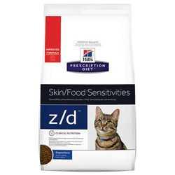Hills Prescription Diet Feline z/d корм при пищевой аллергии 2 кг