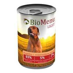 Biomenu консервы для собак низкокалорийные (0,41 кг) 1 шт