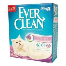 Ever Clean Lavander наполнитель комкующий с ароматом лаванды 10 кг