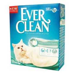 Ever Clean Aqua Breeze наполнитель комкующий с ароматизатором Морской бриз 6 кг