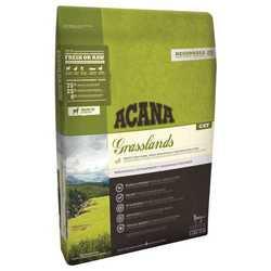 Acana Grasslands Cat сухой корм для кошек и котят с ягненком 340 гр