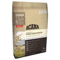 Acana Singles Free-Run Duck сухой корм для взрослых собак с уткой 6 кг