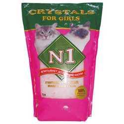 Crystals N 1 For Girls силикагелевый наполнитель 5 л